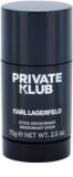 Karl Lagerfeld Private Klub deostick pro muže 75 g