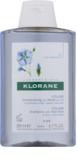 Klorane Flax Fiber sampon finom és lesimuló hajra