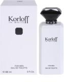 Korloff In White toaletna voda za moške 88 ml
