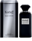 Korloff Korloff Private Black Vetiver toaletna voda uniseks 88 ml