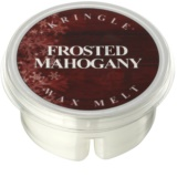 Kringle Candle Frosted Mahogany Wachs für Aromalampen 35 g