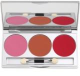 Kryolan Basic Face & Body paleta de blusher -  3 tons