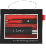 La-Tweez La-Tweez Tweezers With Light Black