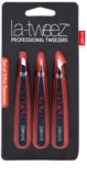 La-Tweez Professional Tweezers set pinzet 3 ks