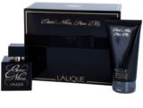 Lalique Encre Noire Pour Elle coffret III.