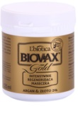 L'biotica Biovax Glamour Gold mascarilla capilar con aceite de argán