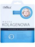 L'biotica Masks Collagen Platinium plátýnková maska s kolagenem
