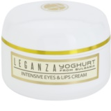 Leganza Yoghurt интензивен крем за зоната около очите и устните