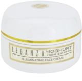 Leganza Yoghurt озаряващ дневен крем