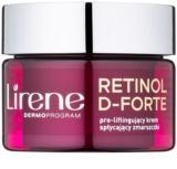 Lirene Retinol D-Forte 50+ creme de dia contra as rugas com efeito lifting