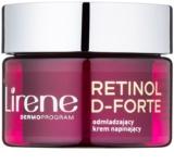 Lirene Retinol D-Forte 60+ creme de dia rejuvenescedor para esticar a pele