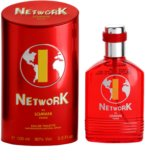 Lomani Network Red eau de toilette para hombre 100 ml
