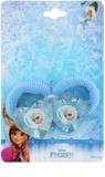 Lora Beauty Disney Frozen elásticos para cabelo em forma de coração