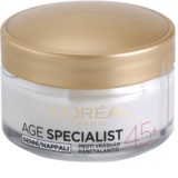 L'Oréal Paris Age Specialist 45+ crema de día antiarrugas