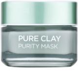 L'Oréal Paris Pure Clay tisztító és mattosító arcmaszk