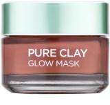 L'Oréal Paris Pure Clay masca pentru exfoliere