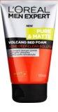 L'Oréal Paris Men Expert Pure & Matte Spuma curatare intensa. impotriva acneei