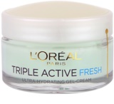 L'Oréal Paris Triple Activ Fresh gel crema pentru piele normala si mixta