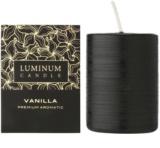 Luminum Candle Premium Aromatic Vanilla Duftkerze    mittlere (Pillar 60 - 80 mm, 32 Hours)