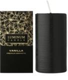 Luminum Candle Premium Aromatic Vanilla Duftkerze    große (Ø 70 - 130 mm, 65 h)