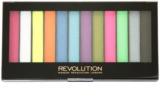 Makeup Revolution Acid Brights paleta očných tieňov
