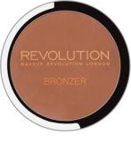 Makeup Revolution Bronzer bronzer z ogledalom in aplikatorjem