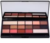 Makeup Revolution I ♥ Makeup Chocolate Vice szemhéjfesték paletták tükörrel és aplikátorral