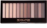 Makeup Revolution Essential Mattes 2 paleta de sombras de ojos