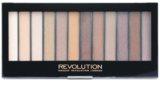 Makeup Revolution Essential Shimmers paleta očných tieňov