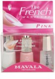 Mavala French Manicure Pink sada pre francúzsku manikúru