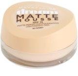 Maybelline Dream Matte Mousse mattító make-up