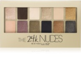 Maybelline The 24K Nudes szemhéjfesték paletták