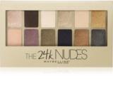 Maybelline The 24K Nudes palette de fards à paupières