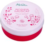 Melvita Hip Rose výživné tělové máslo pro velmi suchou pokožku