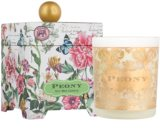 Michel Design Works Peony Scented Candle 397 g in Glass Jar (65-80 Hours)