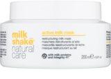 Milk Shake Natural Care Active Milk masca de lapte activa pentru par uscat si deteriorat