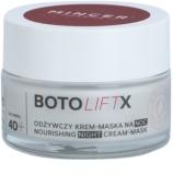 Mincer Pharma BotoLiftX N° 700 40+ tápláló éjszakai krém - maszk száraz bőrre