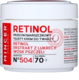Mincer Pharma Retinol N° 500 protivráskový krém 70+