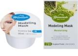 Missha Homemade Mungbean Powder masque modelant visage effet hydratant
