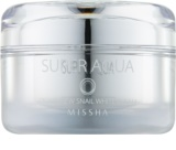 Missha Super Aqua Cell Renew Snail aufhellende Crem mit Schneckenextrakt