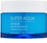 Missha Super Aqua Ice Tear hydratačná nočná pleťová maska