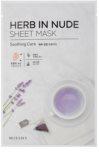 Missha Herb in Nude masca de celule cu efect calmant