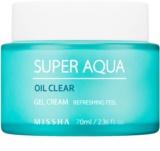 Missha Super Aqua Oil Clear хидратиращ гел-крем