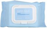 Missha Super Aqua Perfect очищуючі серветки для шкіри зі зволожуючим ефектом