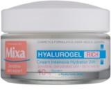 MIXA Hyalurogel intensive feuchtigkeitsspendende Tagescreme mit Hyaluronsäure