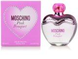 Moschino Pink Bouquet Eau de Toilette para mulheres 100 ml
