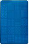 Moyra Nail Art Fabric Texture платка за печати за нокти
