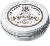 Mr Bear Family Woodland vosk na knír