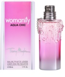 Mugler Womanity Aqua Chic 2013 Edition eau de toilette nőknek 50 ml