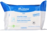 Mustela Bébé Toillete toalhitas de limpeza para rosto